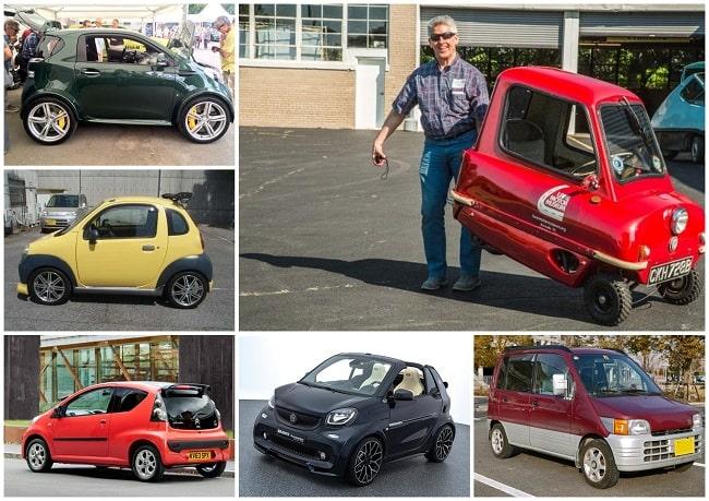 самые легкие и маленькие авто