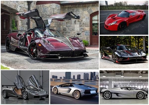 самые скоростные спорткары мира