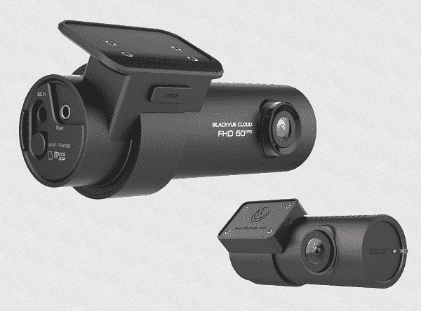 Видеорегистратор с 2 камерами