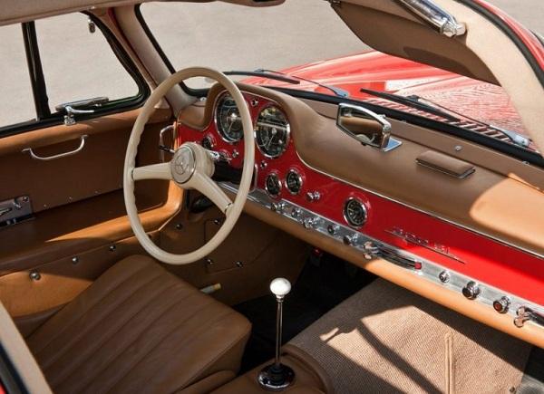интерьер 300SL Gullwing