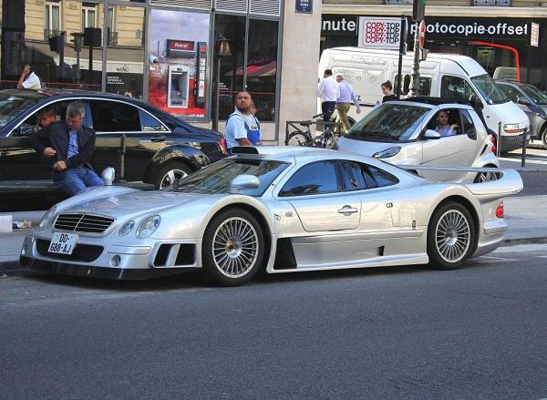 мерседес бенс CLK GTR AMG Coupe