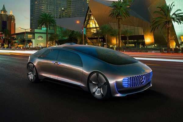Mercedes F015 LuxuryinMotion