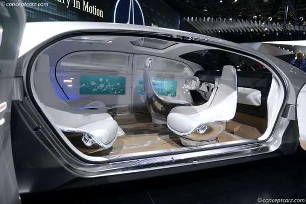 Mercedes F-01-Luxury-DV-15 интерьер