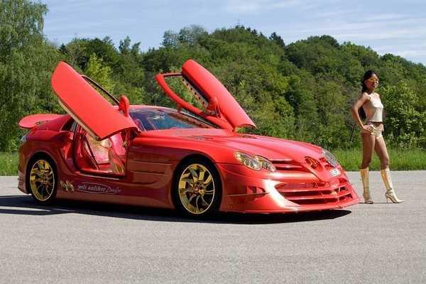 Mercedes-Benz SLR McLaren 999 Red GoldDream