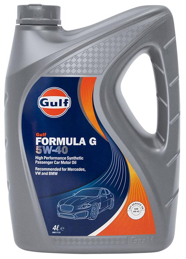 Gulf Formula G