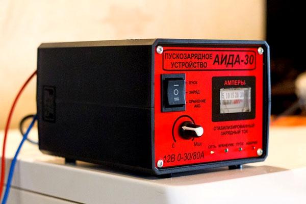 Пуско-зарядный аккумулятор