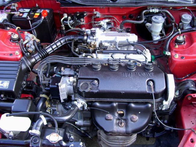 Мотор Honda D-Series
