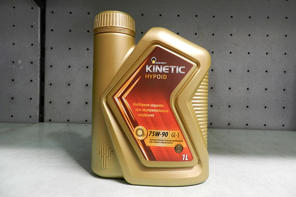 Роснефть Kinetic GL-5 75W90
