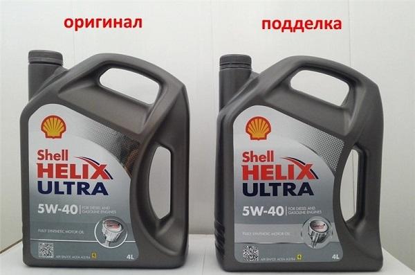 Как отличить оригинальное моторное масло от поддельного?