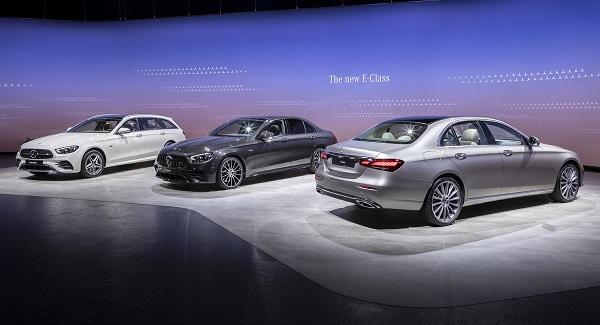 Mercedes-Benz E-Class 2020 рестайлинг