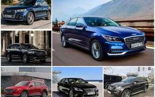 7 машин с самым высоким уровнем комфорта