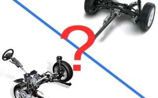 7 основных преимуществ переднего привода перед задним