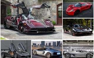 10 самых быстрых автомобилей на планете