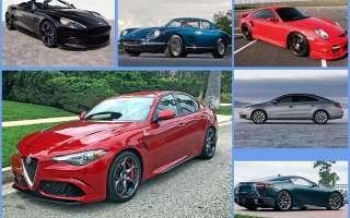 Рейтинг самых красивых машин последних десятилетий