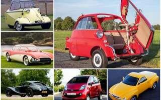 Топ 10 самых необычных и интересных автомобилей в мире