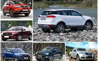 Рейтинг лучших автомобилей китайского производства — ТОП 10