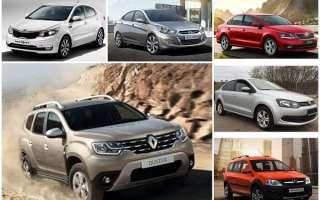 10 лучших автомобилей за 600000 рублей