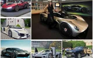 Рейтинг самых дорогих автомобилей в мире