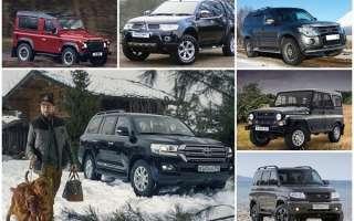 7 лучших автомобилей для охоты и рыбалки