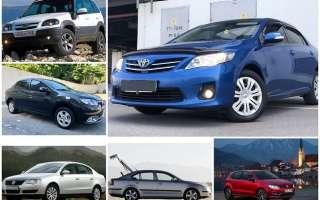 Лучшие автомобили с пробегом за 500 тысяч рублей