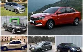 Топ недорогих, надежных и экономичных автомобилей на вторичном рынке