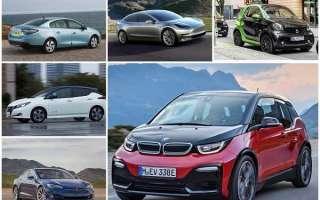 6 лучших электромобилей в России