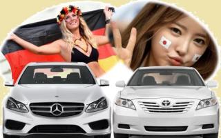 Чем японский автомобиль лучше немца?