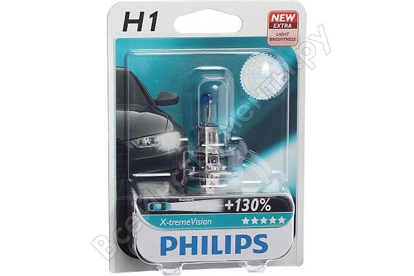 Philips H1 12 В 55 Вт P14,5s X-tremeVision +130