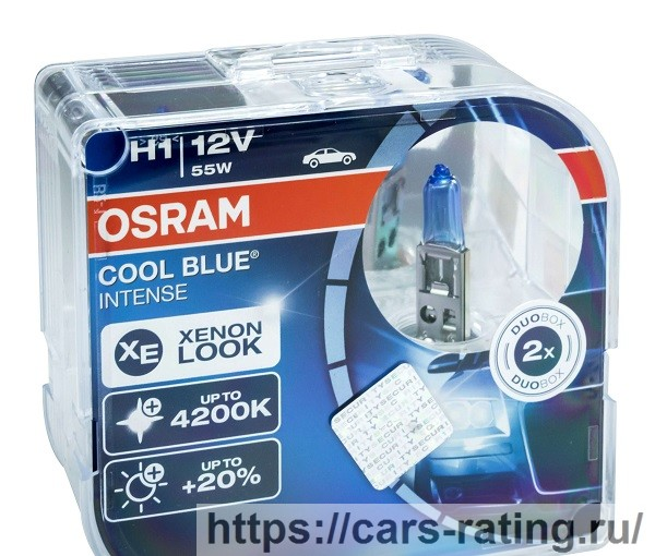OSRAM COOL BLUE INTENSE H1