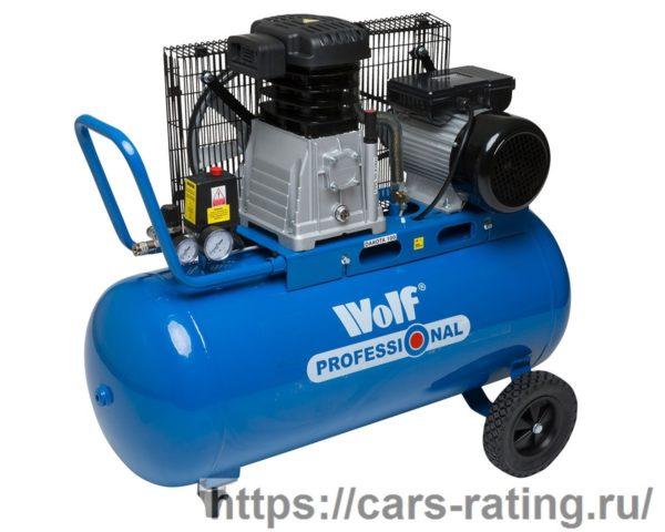 Wolf 3hp 150-литровый воздушный компрессор