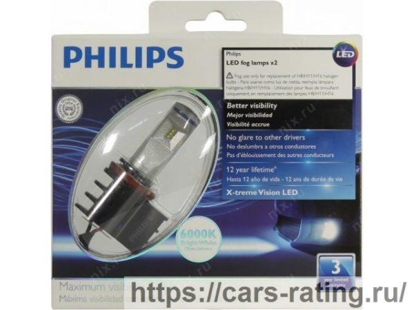 Philips светодиодная противотуманная лампа X-tremeVision