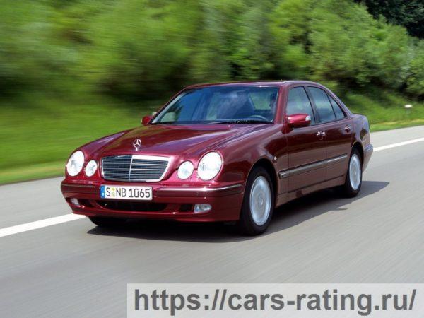Mercedes-Benz E-Класс II (W210, S210) Рестайлинг