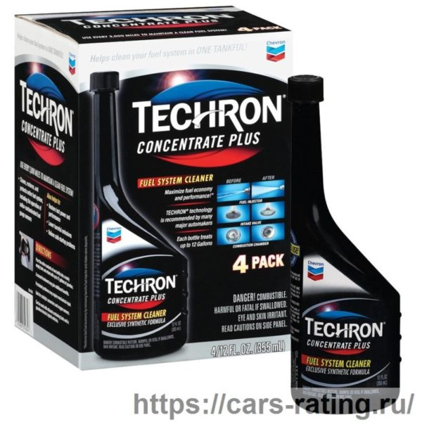 Chevron Techron Concentrate Plus