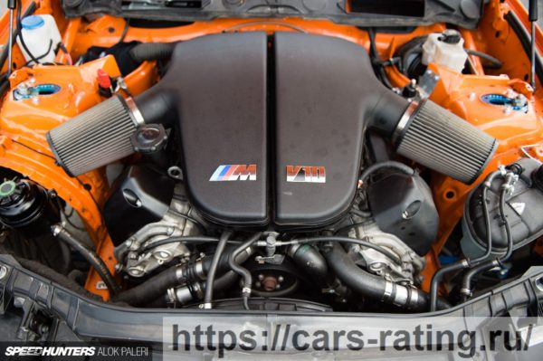 двигатель s85 v10